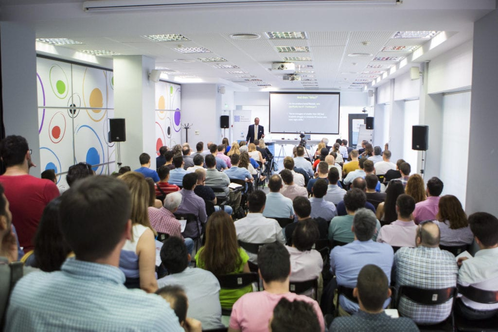 The Hellenic Initiative sponsored the Startup Odyssey event in collaboration with egg