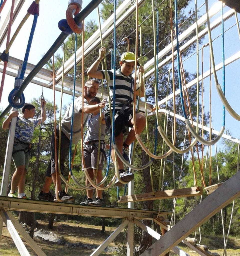 A new grant of $33,000for the support of the 1st Therapeutic Summer Camp for Children in Greece