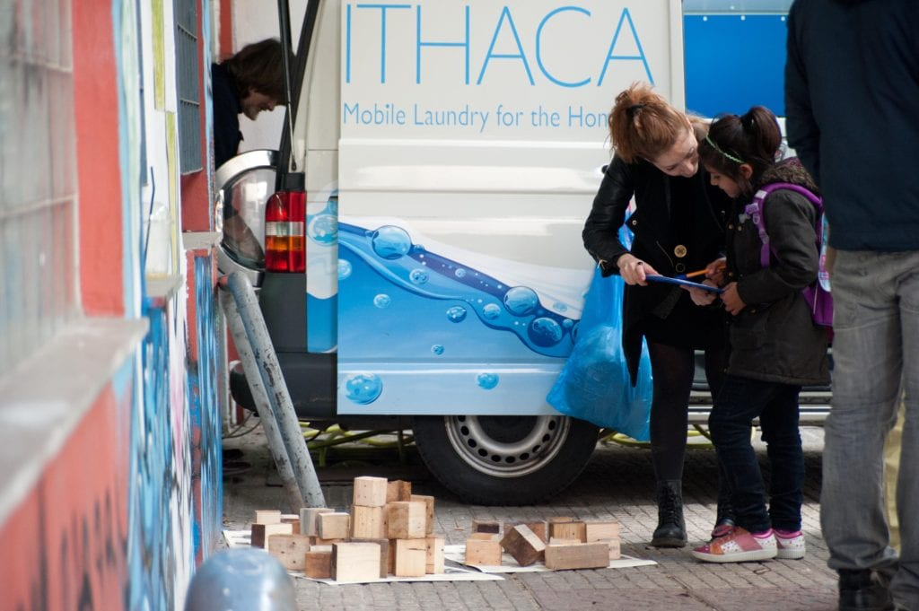 The Hellenic Initiative supports the work of Ithaca Laundry through a grant of $10.000