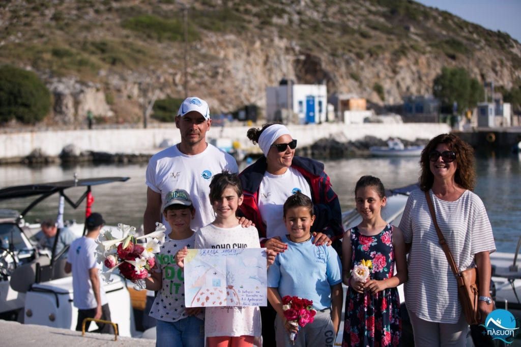 The Hellenic Initiative supports the most remote islands of Greece through a grant to Symplefsi