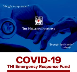 The Hellenic Initiative Raises $100K in COVID-19 Aid For Greece