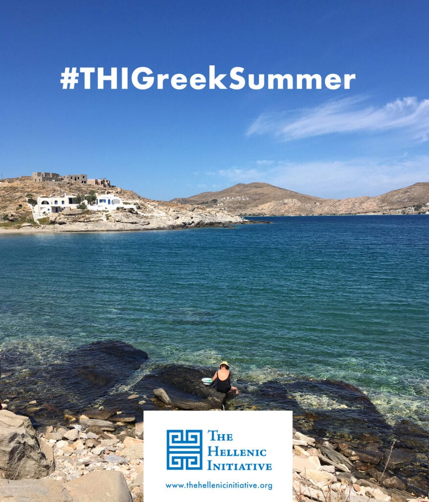 Show your love for Greece with your favorite photos by posting them on Instagram and Facebook. Tag @The_Hellenic_Initiative, use the hashtag #THIGreekSummer and your favorite summer photos could be featured on THI's account!