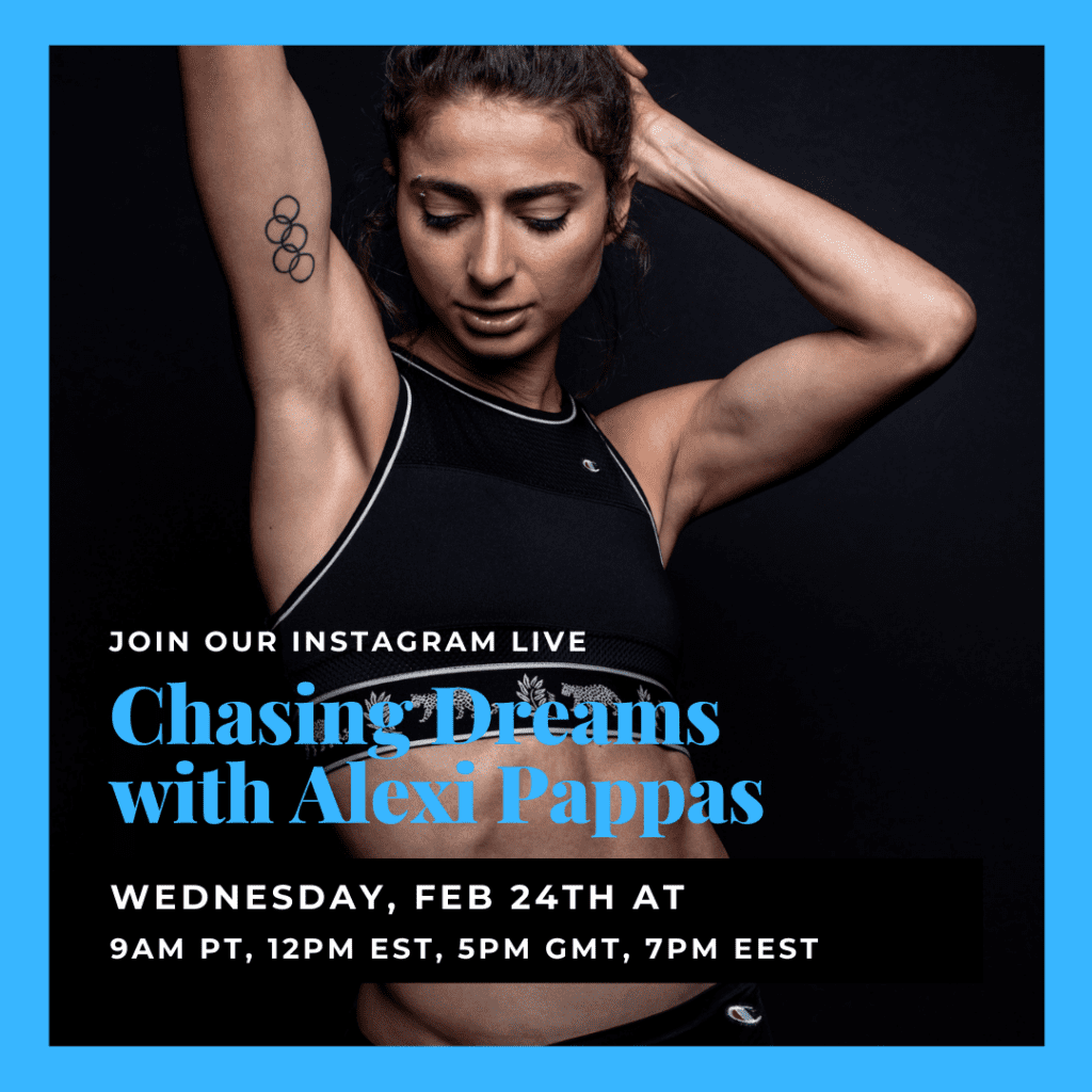 Chasing Dreams with Alexi Pappas