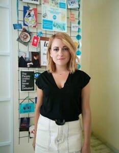 Melina Taprantzi, co-founder of Wise Greece.